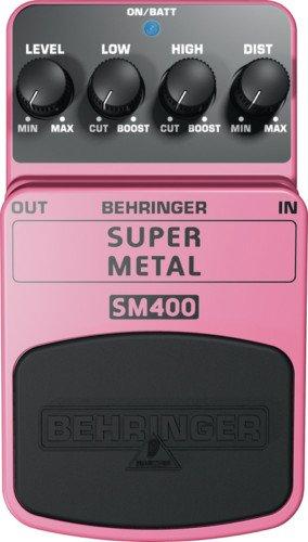 Behringer SM400 Super High-Gain Distortion Pedal