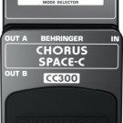 Behringer CC300 Chorus Space-C Guitar Pedal