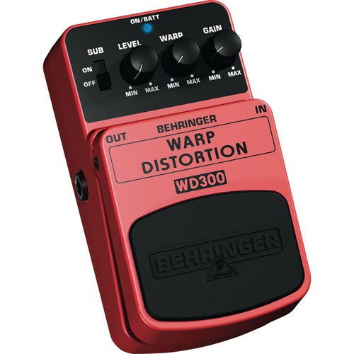 Behringer WD300 Warp Distortion Effects Pedal