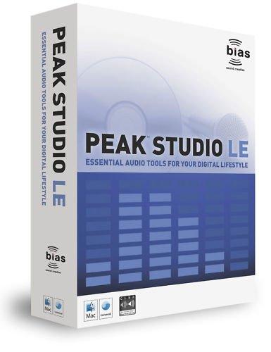 Bias Peak Studio LE Mastering Software