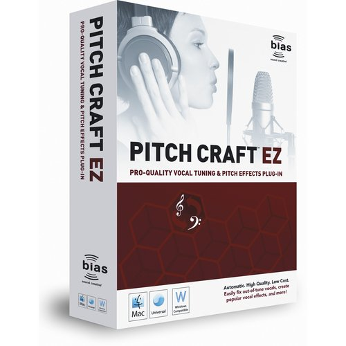 Bias PitchCraft EZ - Vocal Tuning and Effects Plug-In