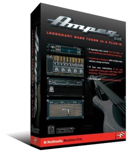 IK Multimedia Ampeg SVX Bass Amp Modeling Software