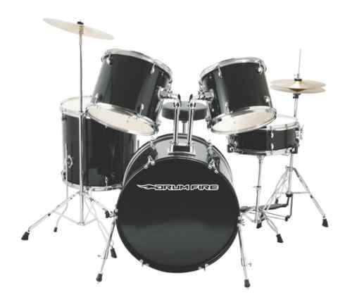 Drum Fire DK7500-GB 5 Piece Drum Set Brand New