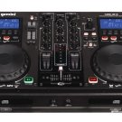 Gemini CDM3610 Dual MP3/CD DJ System
