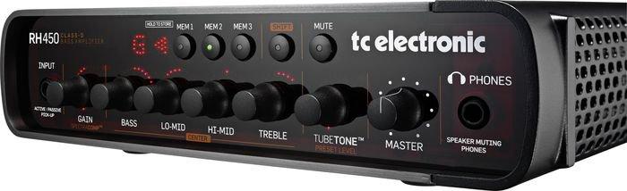 TC Electronic RH450 Bass Amplifier Head