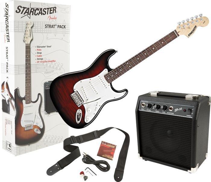 Fender Starcaster Jazz Bass Guitar Sunburst