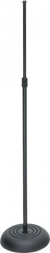 On Stage MS7201B Black Microphone Stand 6-Pack