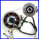 Magneto Assy 8 Coil CG125 50-250cc ATV Moped Motorcycle