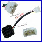 Voltage Regulator Female Plug 200cc 250cc ATV Quad