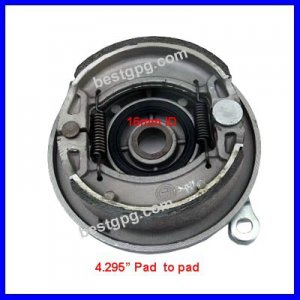 "Drum Brake Shoe Assembly 4.295""  for 110cc 125cc ATV LH"