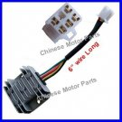 "Voltage Regulator 50 150cc ATV Moped 5 Wires 6"" Long"