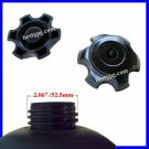 "Gas Tank Cap Plastic Black 2"" OD Gas Tank Thread ATV"