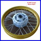 Front Wheel Rim Assy 1.4x12 Disc Brake Dirt Bike Gol