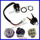 "Ignition Switch Male Plug 6"" Wire for 50-110 Mini ATVs"