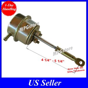 Universal Turbo Internal Wastegate Actuator for RB20 6mm C-clip Hole 7-26psi