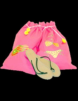 Bikini Flip Flop set