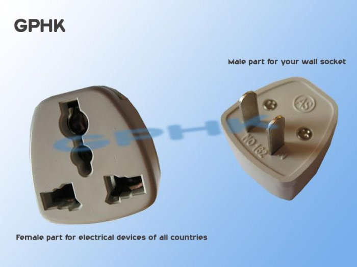 Universal AC Travel Adapter for US Plug Socket