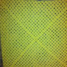 Crocheted Yellow Newborn Blanket