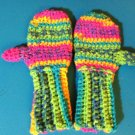 Crocheted Mittens 4-5 yrs