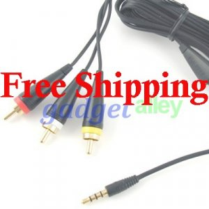Audio Video TV Out AV Cable for Samsung i9000 Galaxy S S8500 Wave