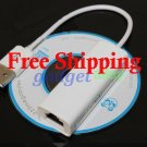 USB 2.0 Ethernet LAN RJ45 Adapter for Nintendo Wii Network Game
