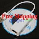 USB 2.0 Ethernet LAN RJ45 Adapter for Nintendo Wii Network Game