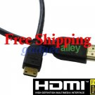 Mini HDMI Cable for Canon EOS 500D 550D Rebel T2i 1.8ft