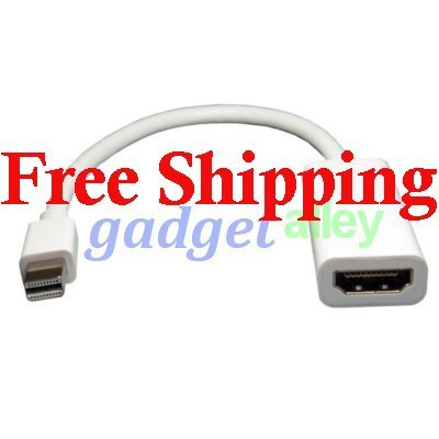 Mini DisplayPort DP to HDMI Audio Video Cable for Apple Mac Book MacBook Air Pro