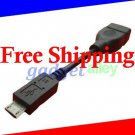 Micro USB to USB Host OTG Cable On the Go for Motorola XOOM Android Tablet