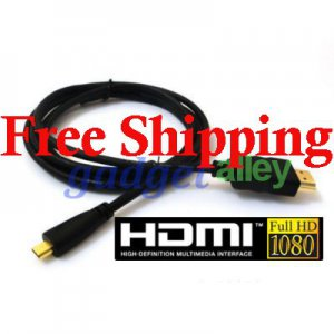for Motorola DROID X ATRIX 4G Android Smartphone Micro HDMI to Standard HDMI (Type A) TV Cable 4ft
