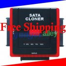 SATA Hard Drive Duplicator HDD Hard Disk Cloner Cloning without PC Offline from 1 to 2 HDD