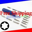 Torx screwdriver set T5 T6 T8 T10 T15 for Xbox 360 Hard Drive Replacement SSD Upgrade