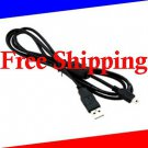 for Canon SX30IS SX110 SX120 SX130 E1 USB Data PC Interface Cable