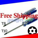 Torx T8 T10 Tamper proof Security screwdriver for Sony PlayStation 3 PS3 Fat Slim Disassembly