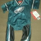 12 Months Jersey and pants set NFL Eagles