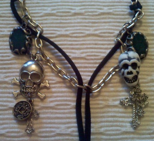 Pirate's Ahoy Skull Necklace
