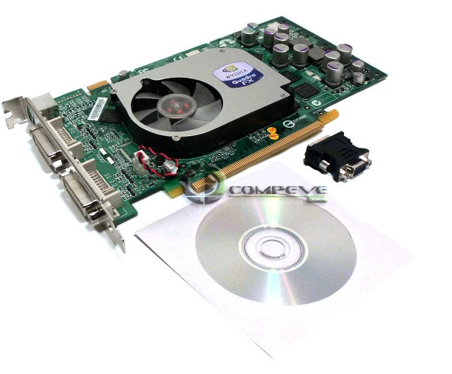 nVidia Quadro FX 1400 PCI-Express,SLI 128MB DDR Graphics Adapter