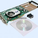 HP nVIDIA QUADRO FX1400 FX 1400 DUAL VIDEO CARD, PCI-E