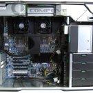 HP Z800 Workstation Barebone Motherboard 1110W PSU DVD-RW PC Power supply XEON