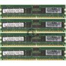 Samsung 4GB 4x1GB PC-3200 ECC CL3 184-pin Memory M312L2920CZP-CCCQ0 373029-551