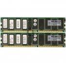 HP 4GB 2x2GB PC2100 DDR ECC Reg 184-pin DIMM Memory HPQ00-21183-714PD 261586-051