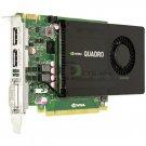 Nvidia Quadro K4000 3GB PCIe x16 Dual DP DVI-I Graphics Card 900-52033-0000-000
