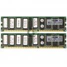 SimpleTech 4GB (2x2GB) DDR PC2700 ECC Reg 184-pin DIMM Memory Module 331563-851
