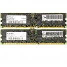 IBM 4GB (2x2GB) PC2700 DDR-333MHz ECC Reg 184-pin DIMM Memory Module 73P2274