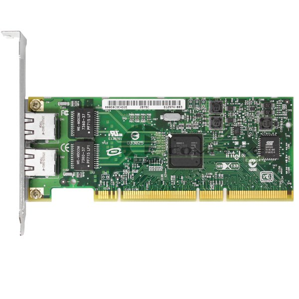 Intel PRO/1000 GT Dual Port Gigabit Ethernet PCI-x Network Adapter D12974-003