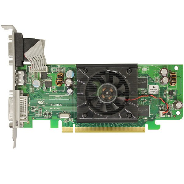 ATI Radeon HD 3450 256MB DDR2 PCIe x16 HDMI DVI-I VGA Graphics Adapter