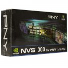 PNY Nvidia Quadro NVS 300 Graphic Card 512MB DDR3 PCIe 2.0 x16 VCNVS300X16-PB