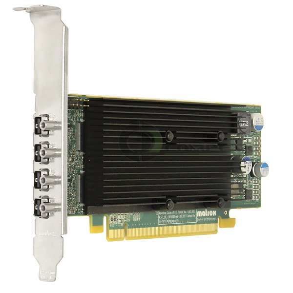 Matrox M9148 1 GB DDR2 SDRAM PCI Express x16 Graphics Adapter M9148E1024LAF