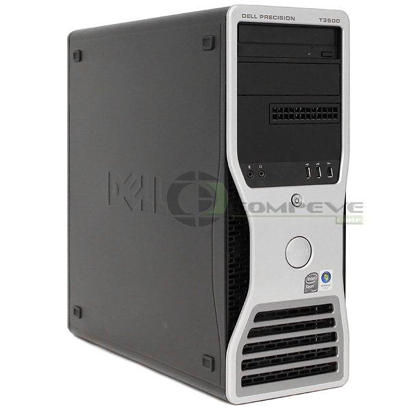 Dell Precision T3500 PC Desktop Quad Core E5504 4GB 80GB HDD Quadro FX1500 Win 7