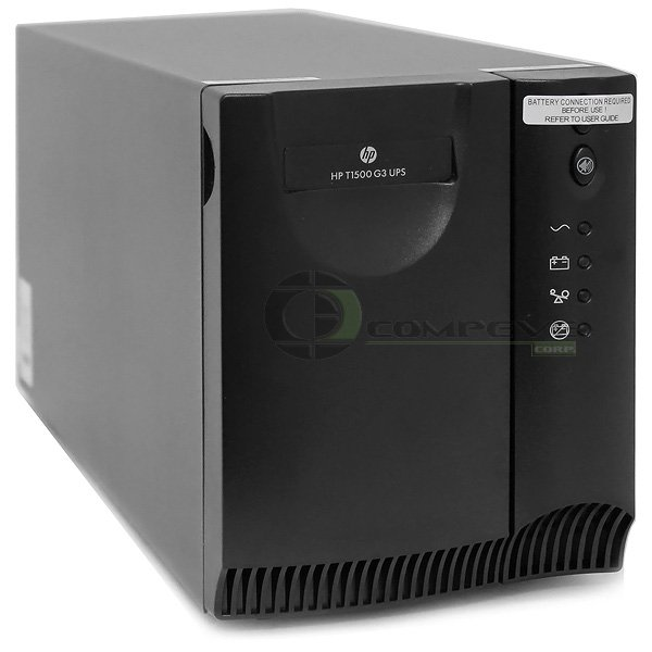 HP T1500 G3 1400VA NA Tower Uninterruptible Power System AF450A 120V UPS